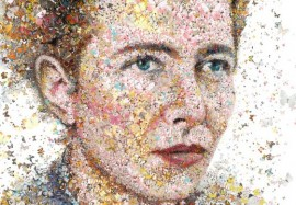 Simone De Beauvoir: The butterfly (for Womankind magazine Austra